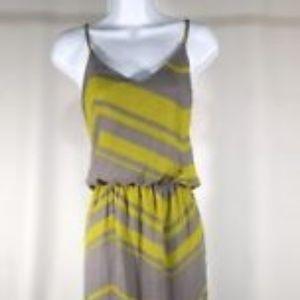 City Triangles Maxi Dress Strappy Back